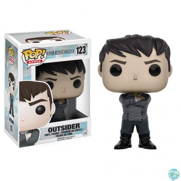 Dishonored 2 - Outsider Figur - POP: Funko