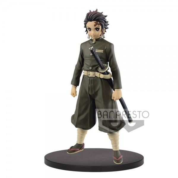 Demon Slayer Kimetsu no Yaiba - Tanjiro Kamado Figur / Vol.7: Banpresto
