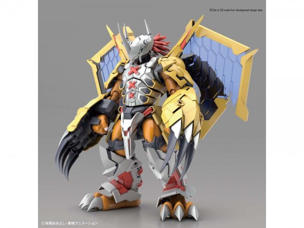 Digimon - Wargreymon Model-Kit / Figure-rise Standard Amplified: Bandai Spirits