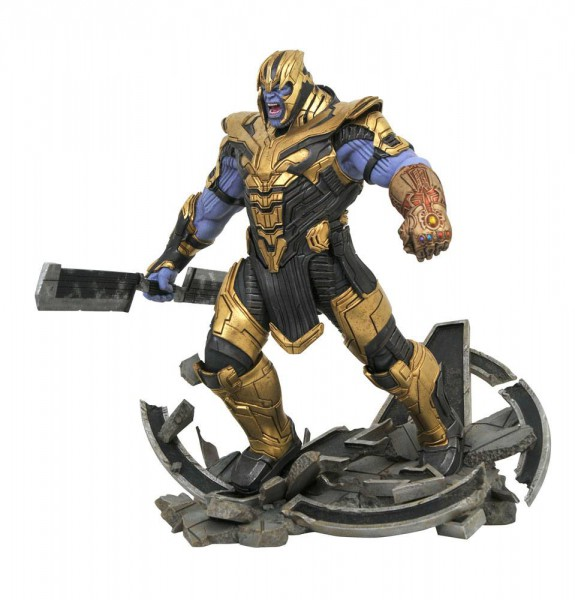Avengers: Endgame - Armored Thanos Statue / Marvel Movie Milestones: Diamond Select