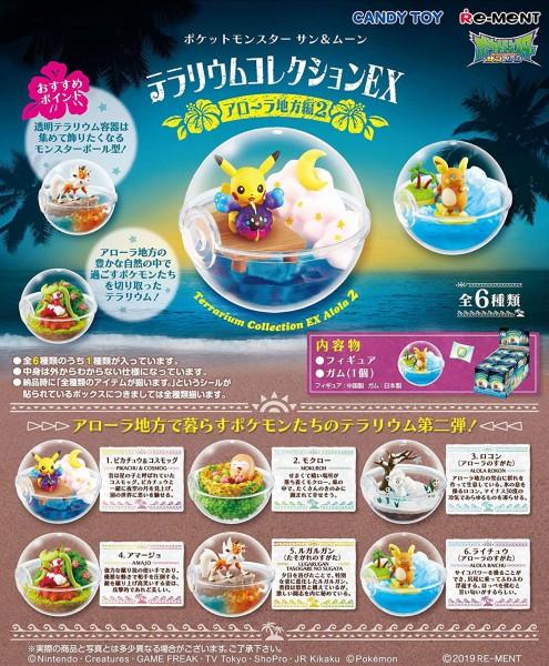 Pokemon - 1x Terrarium Figur / Blindbox - Collection Vol.6: Re-Ment
