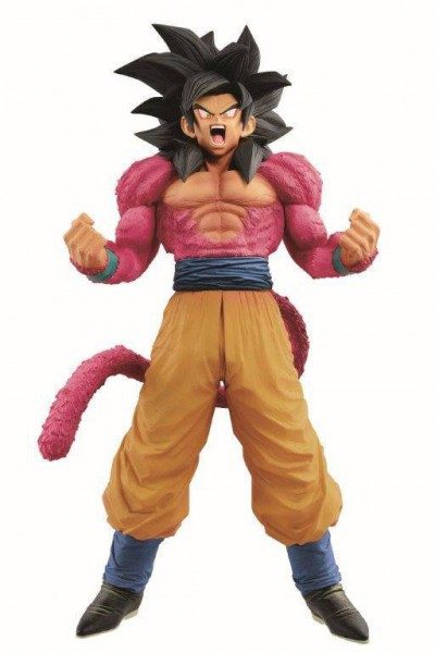 Dragonball GT - SSJ4 Son Goku Statue / Super Master Stars Piece - The Brush: Banpresto
