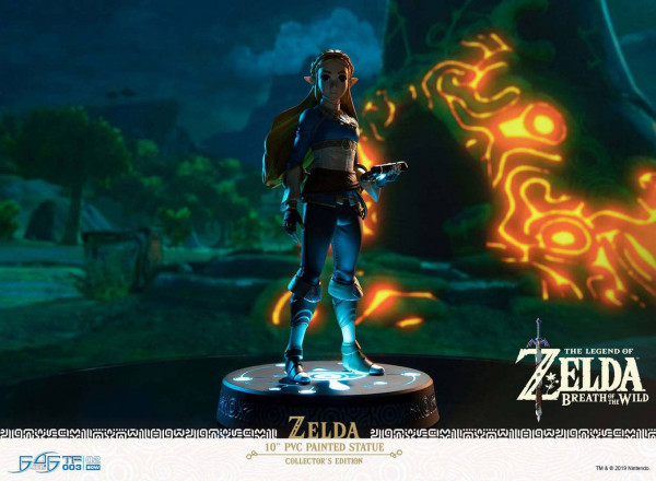 The Legend of Zelda Breath of the Wild - Zelda Statue / Collector's Edition: First 4 Figures