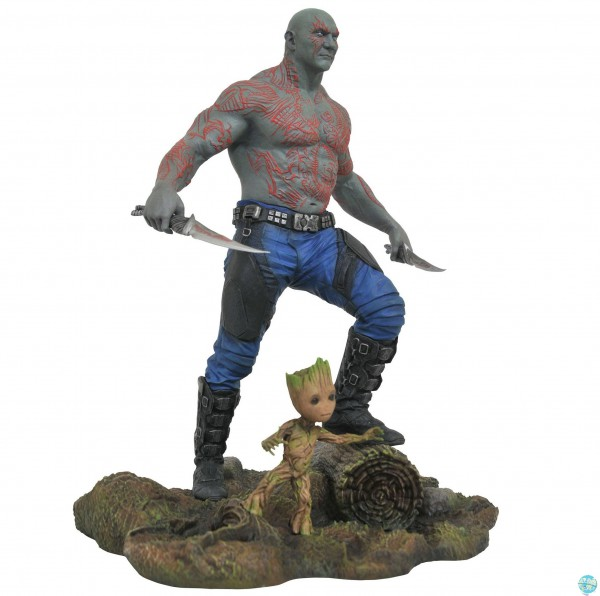 Guardians of the Galaxy Vol. 2 - Drax & Baby Groot Statue / Marvel Gallery: Diamond Select