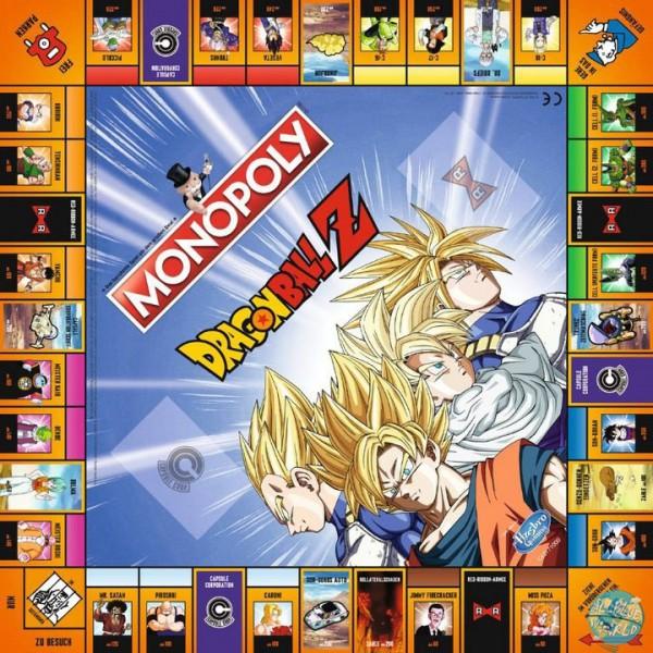 Dragonball - Monopoly - Deutsche Version: Winning Moves