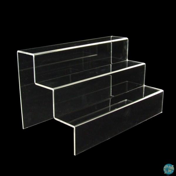 Präsentationstreppe 3-stufig - Nendoroid / Chibi - Acryl