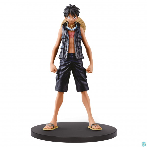 One Piece - Ruffy Figur - DXF / The Grandline Men: Banpresto
