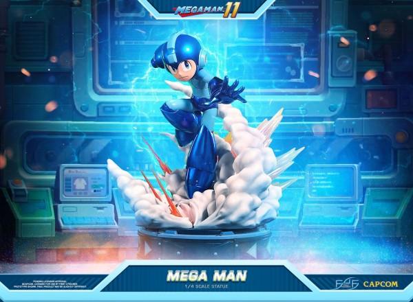 Mega Man 11 - Mega Man Statue: First 4 Figures