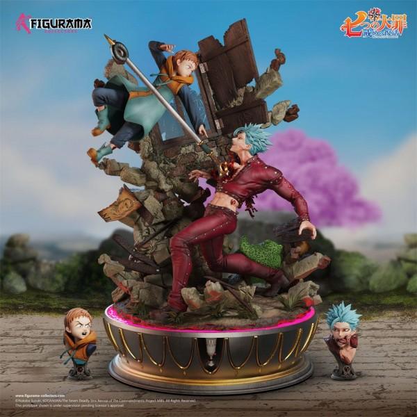 Seven Deadly Sins - Ban vs King Diorama / Elite Fandom: Figurama