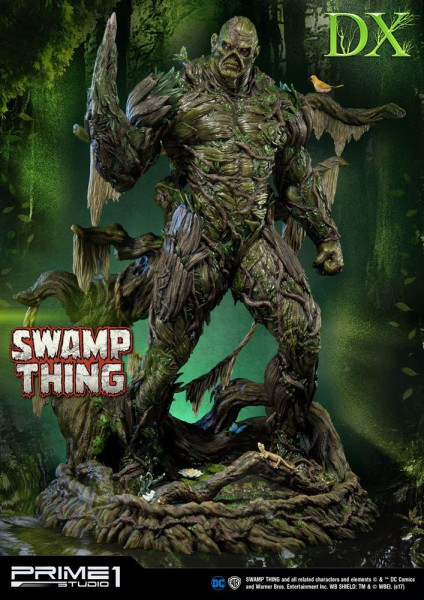 DC Comics - The Swamp Thing Statue / Deluxe Version: Prime 1 Studio