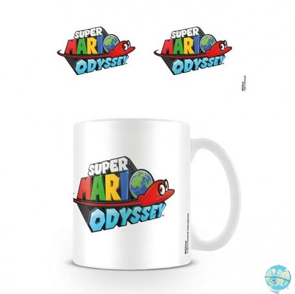 Nintendo - Super Mario Odyssey Tasse - Logo: Pyramid