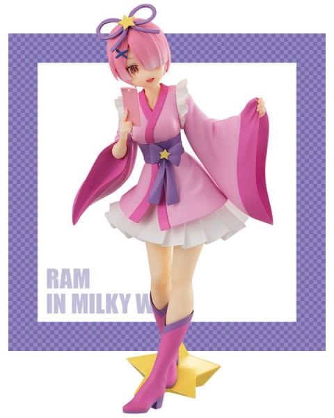 Re:ZERO -Starting Life in Another World - Ram Figur / in Milky Way Version: Furyu