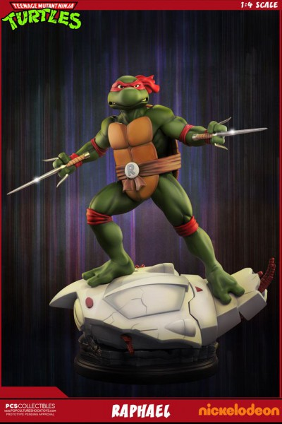 Teenage Mutant Ninja Turtles - Raphael Statue: Pop Culture Shock