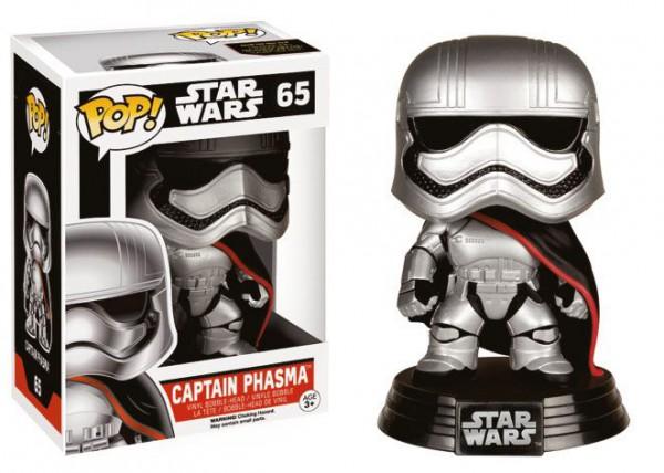 Star Wars Episode VII - Captain Phasma Figur - POP: Funko