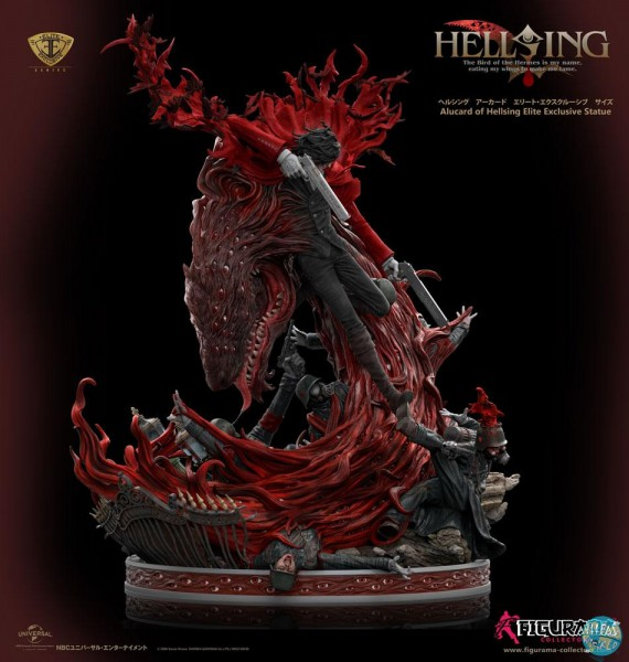Hellsing: Ultimate - Alucard Statue / Elite Exclusive: Figurama Collectors