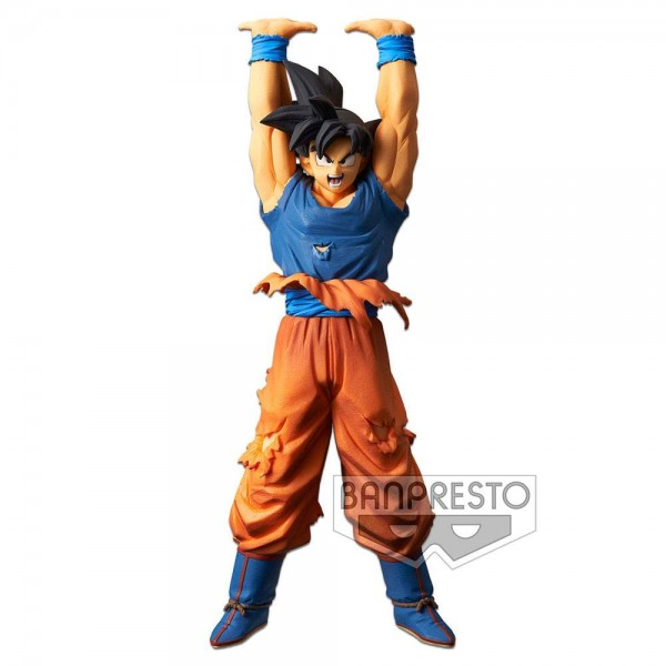 Dragon Ball - Son Goku Figur / Genkidama / Spirit Bomb Special: Banpresto