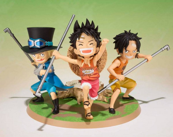 One Piece - Ruffy, Ace & Sabo Statue - FiguartsZERO / A Promise of Brothers: Bandai