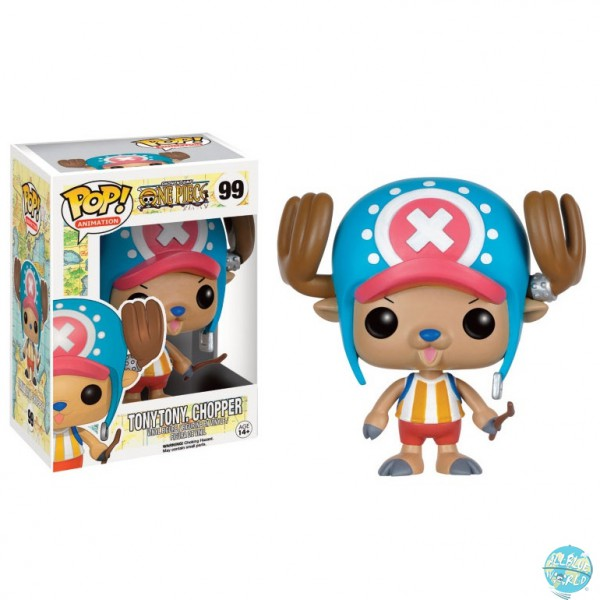 One Piece - Tony Chopper Figur - POP! - Animation: Funko
