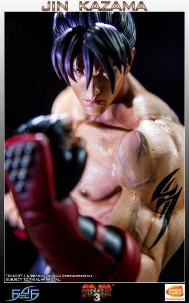 Tekken 3 - Jin Kazama Statue: First 4 Figures
