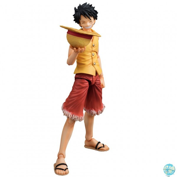 One Piece - Ruffy Actionfigur - Variable Action Heroes / Yellow Version: MegaHouse