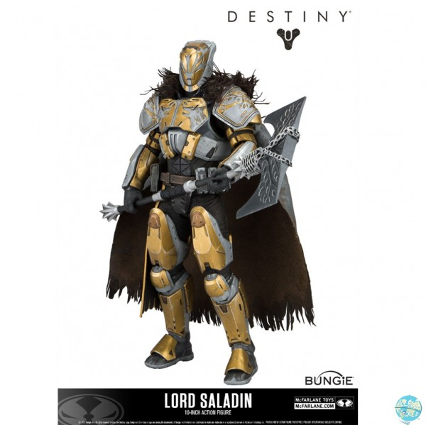 Destiny - Lord Saladin Actionfigur / Deluxe: McFarlane Toys