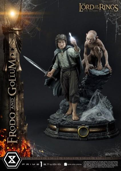 Herr der Ringe - Frodo & Gollum Statue / Bonus Version Version: Prime 1 Studio