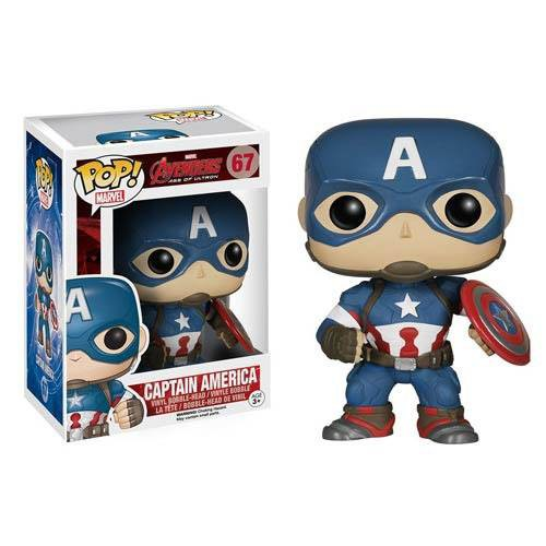 Avengers AOU - Captain America Figur - POP: Funko
