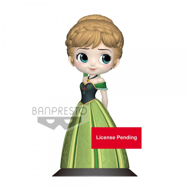 Disney - Anna Figur / Q Posket - Coronation Style B - Pastel Color Version: Banpresto