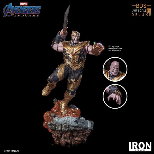 Avengers Endgame - Thanos Statue / BDS Art - Deluxe Version: Iron Studios