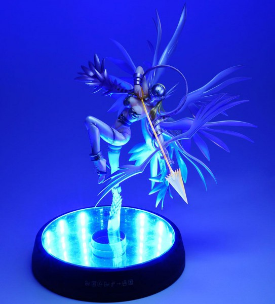 Digimon - Angewomon Statue / G.E.M Series - Holy Arrow Deluxe Version: MegaHouse