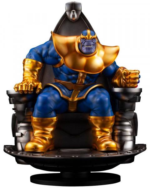 Marvel Comics - Thanos on Space Throne Statue - Fine Art: Kotobukiya