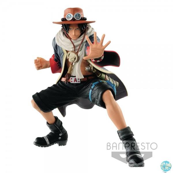 One Piece - Portgas D. Ace Figur - King Of Artist: Banpresto