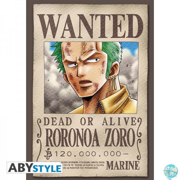 One Piece Posatkarten - Set 2 Zorro Wanted & Co.