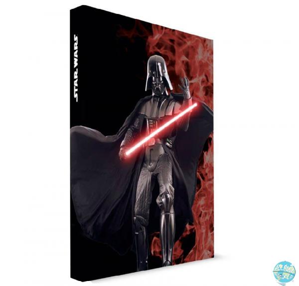 Star Wars SD Toys Notizbuch mit Leuchtfunktion Darth Vader A5