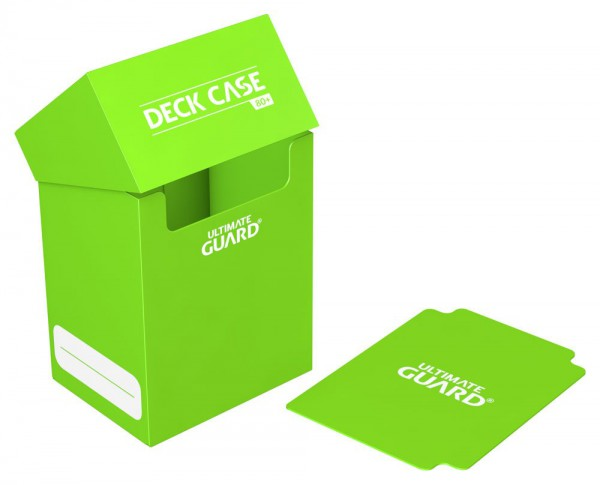 Ultimate Guard - Deck Case 80+ / XenoSkin Hellgrün