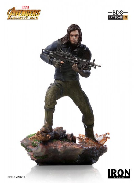 Avengers Infinity War - Winter Soldier Statue: Iron Studios