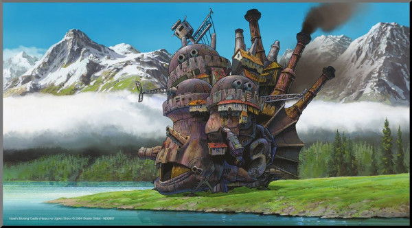 Studio Ghibli - Das wandelnde Schloss Holzdruck: Semic