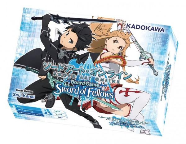 Sword Art Online - Brettspiel Sword of Fellows (Englische Version): Arclight Games
