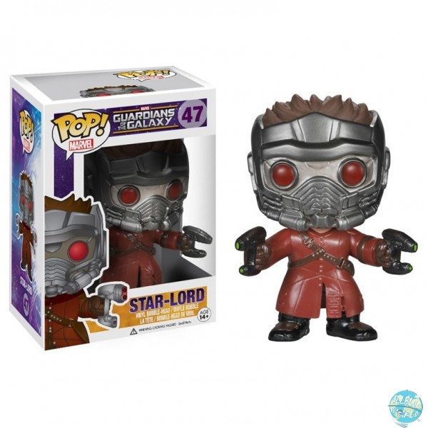Guardians of the Galaxy - Star-Lord Figur - POP: Funko
