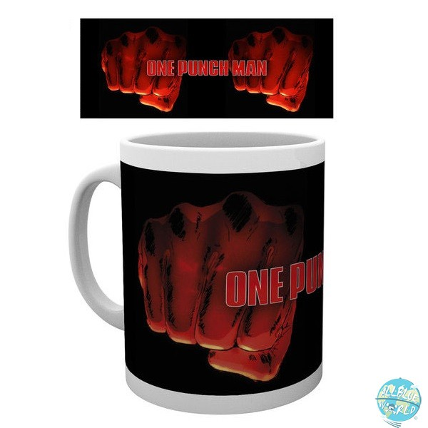 One Punch Man - Tasse - Saitama Fist Motiv: GYE