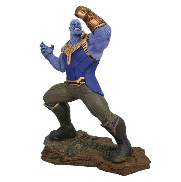 Avengers Infinity War - Thanos Statue / Movie Milestones: Diamond Select