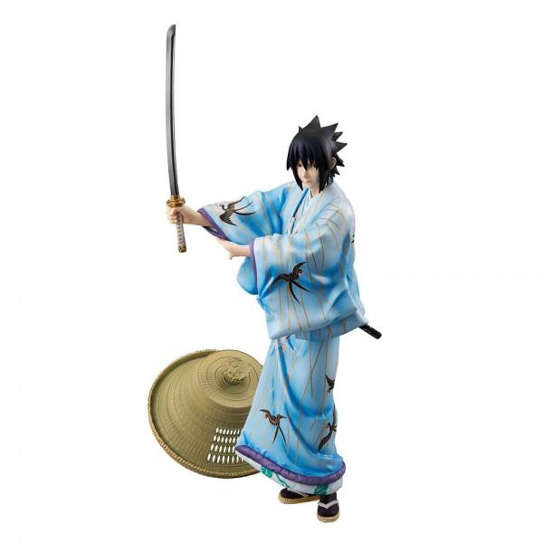 Naruto - Sasuke Uchiha Statue / G.E.M. - Kabuki Version: MegaHouse