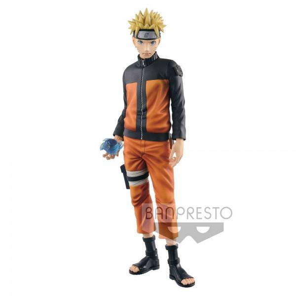 Naruto Shippuuden - Naruto Figur - Shinobi Relations / Grandista: Banpresto