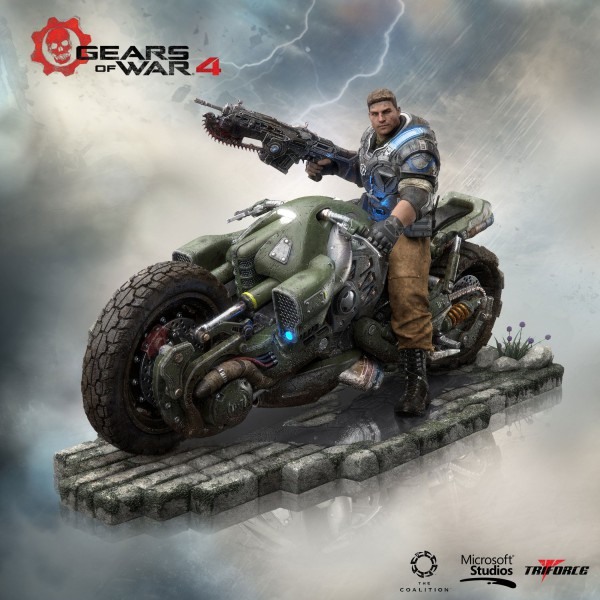 Gears of War 4 - JD Fenix Statue / Collector's Edition: Triforce