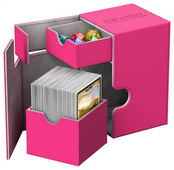 Ultimate Guard - Flip 'n' Tray Deck Case 100+ / XenoSkin Pink