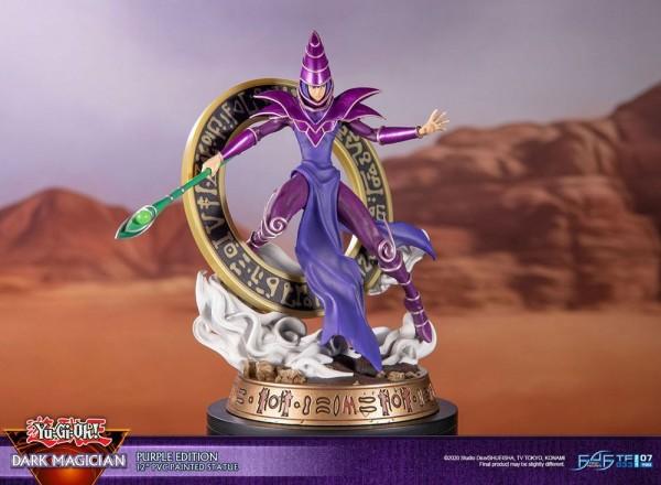Yu-Gi-Oh! - Dark Magician Statue / Purple Version: First 4 Figures