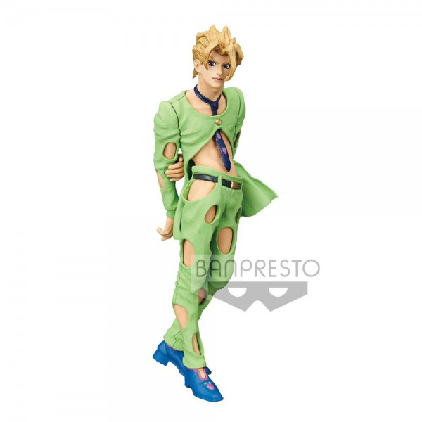 Jojo's Bizarre Adventure Golden Wind - Pannacotta Fugo Figur: Banpresto