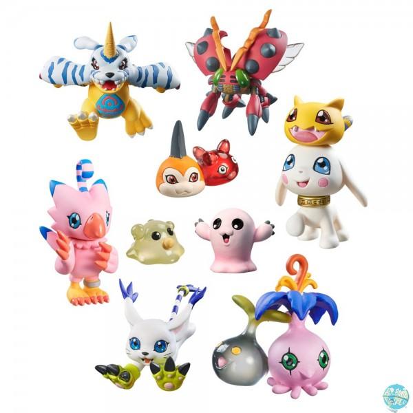 Digimon Adventure - Minifiguren-Set / Digicolle! - Data 2: MegaHouse
