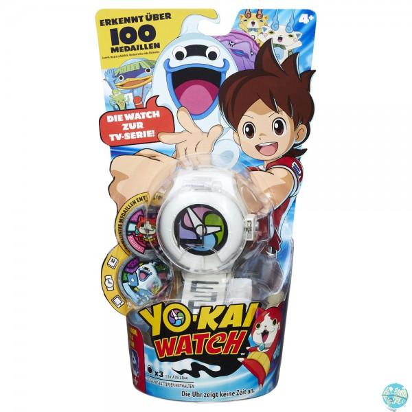 Yo-Kai Watch - Uhr mit 2 Medaillen - Deutsche Version: Hasbro