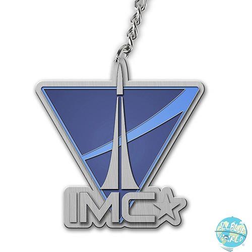 Titanfall Bandai Metall Schlüsselanhänger IMC Logo